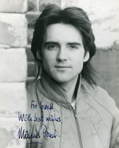 Michael praed archives movies autographed portraits through the