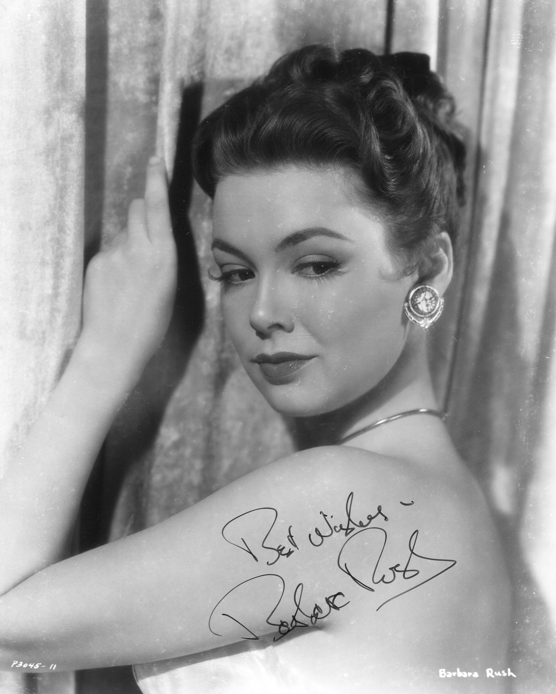 Barbara rush movies amp autographed portraits through the