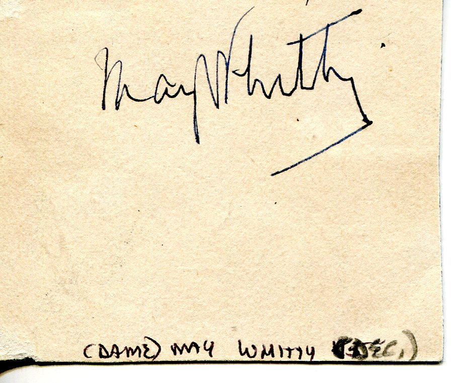 May Whitty - Movies & Autographed Portraits Through The