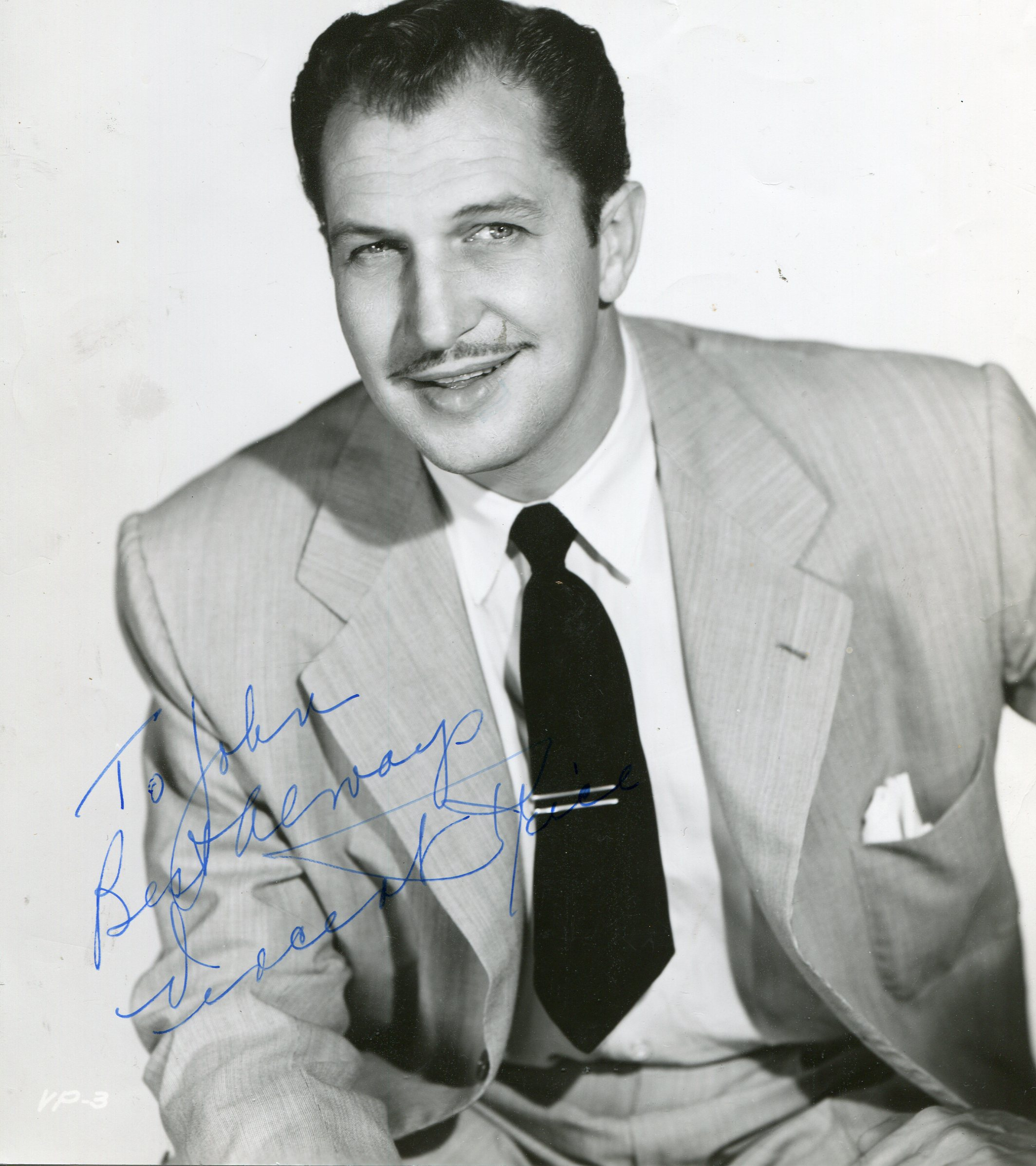 Vincent Price in favorite film roles original signed and numbered lithograph