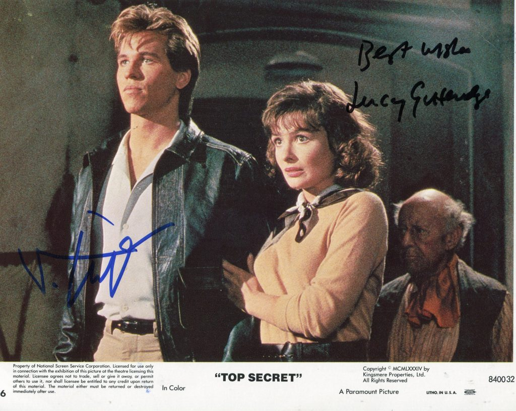 Val Kilmer & Lucy Gutteridge