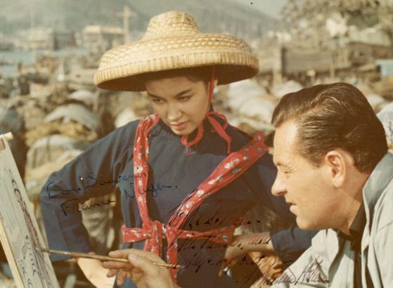 William Holden & France Nuyen