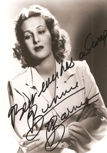 Binnie Barnes Archives Movies Amp Autographed Portraits