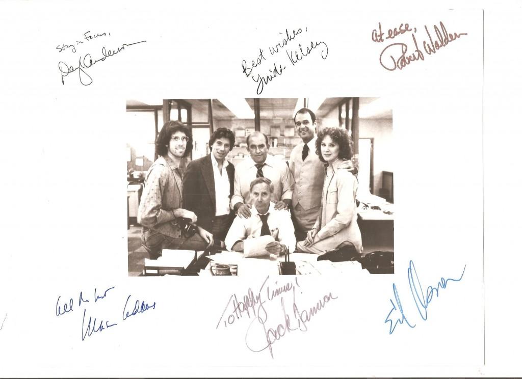 """Lou Grant"" Cast"